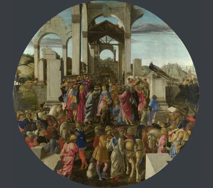Sandro Botticelli, 'The Adoration of the Kings'