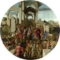 Sandro Botticelli: 'The Adoration of the Kings'.