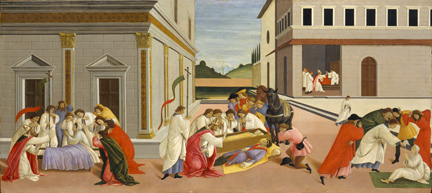 Sandro Botticelli: 'Miracles from the Life of Saint Zenobius'.