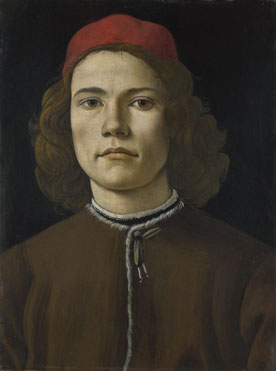 Sandro Botticelli: 'Portrait of a Young Man'