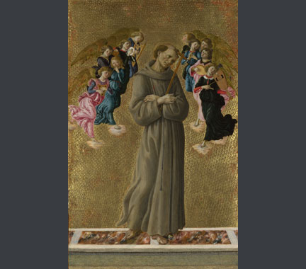 Botticelli, 'Saint Francis of Assisi with Angels', about 1475-80