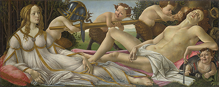 Botticelli, 'Venus and Mars', about 1485