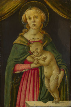 Follower of Sandro Botticelli: 'The Virgin and Child'