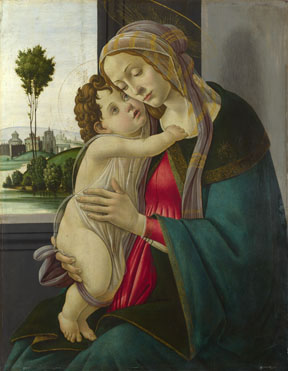 Workshop of Sandro Botticelli: 'The Virgin and Child'