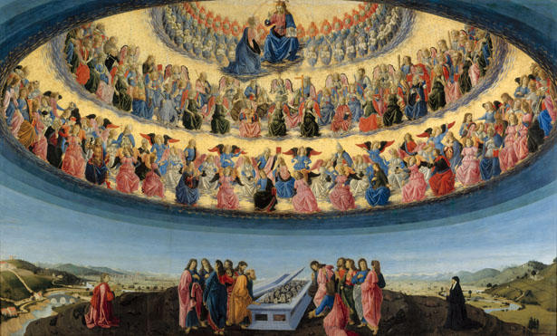 Francesco Botticini: 'The Assumption of the Virgin'