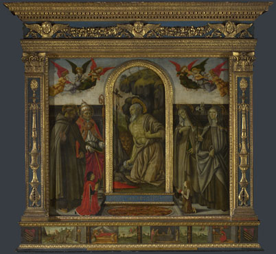 Francesco Botticini: 'S. Gerolamo Altarpiece'