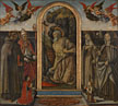 Saint Jerome in Penitence with Saints and Donors