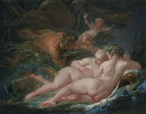 François Boucher: 'Pan and Syrinx'