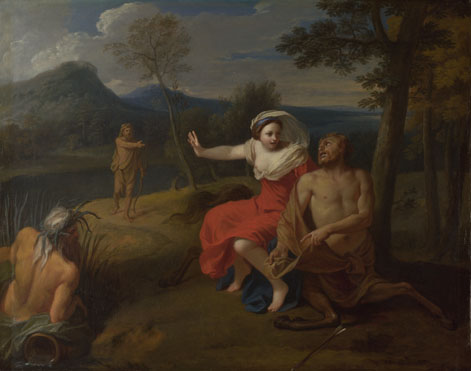 Louis de Boullogne: 'Nessus and Dejanira'