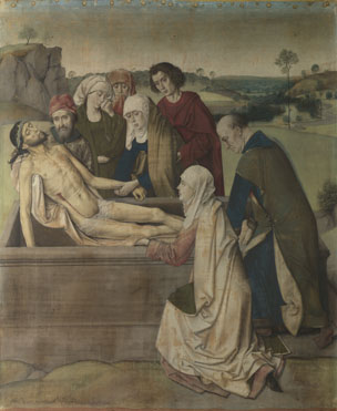 Dirk Bouts: 'The Entombment'