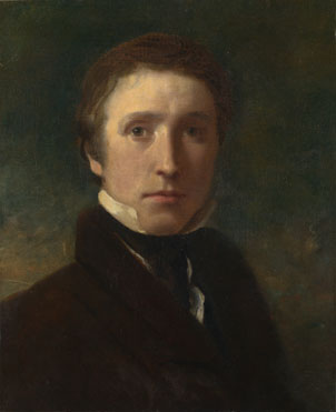 Sir William Boxall: 'Self Portrait at the Age of about Nineteen'