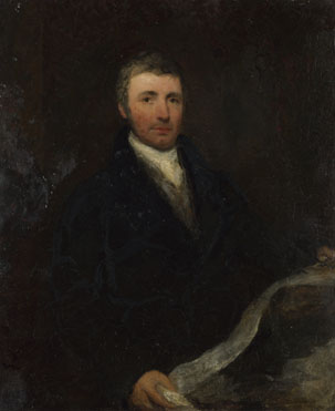 British (possibly Sir William Boxall): 'Portrait of a Man aged about 45'