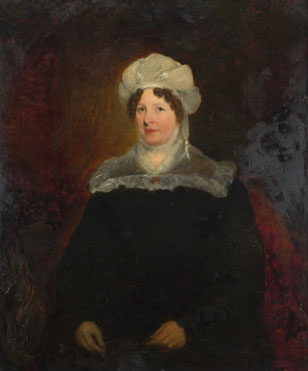 British (possibly Sir William Boxall): 'Portrait of a Woman aged about 45'