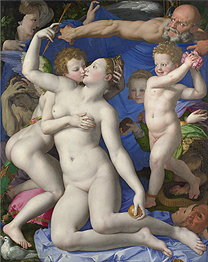 Bronzino 'An Allegory with Venus and Cupid', 1540-50