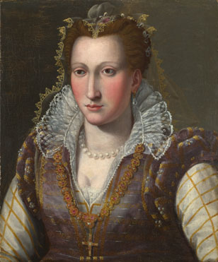 Follower of Bronzino: 'Portrait of a Lady'