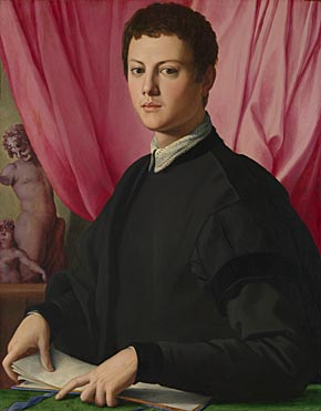 Bronzino, Portrait of a Young Man, probably 1550-5