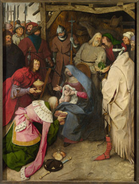Adoration of the Kings, Bruegel