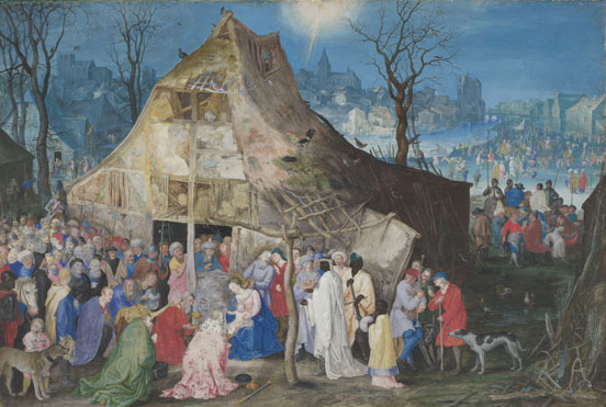 Jan Brueghel the Elder: 'The Adoration of the Kings'