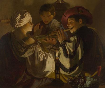 Hendrick ter Brugghen: 'The Concert'