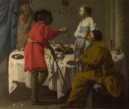 Hendrick ter Brugghen: 'Jacob reproaching Laban'