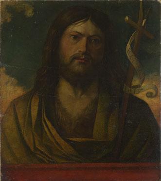 Giovanni Buonconsiglio: 'Saint John the Baptist'