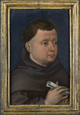 Workshop of Robert Campin: 'Portrait of a Franciscan (?)'