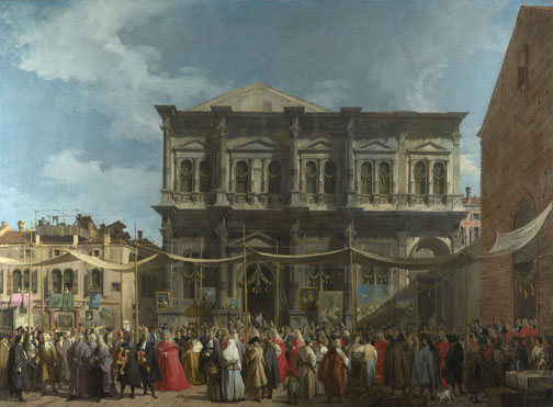 Canaletto: 'Venice: The Feast Day of Saint Roch'