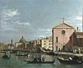 Venice: The Grand Canal facing Santa Croce