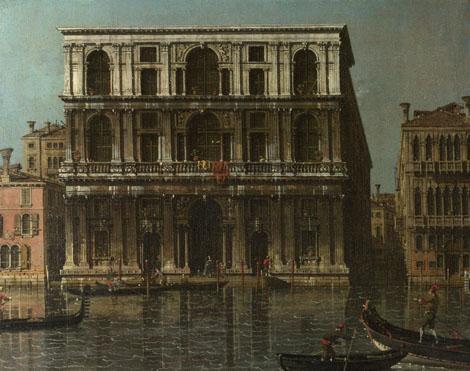 Canaletto: 'Venice: Palazzo Grimani'