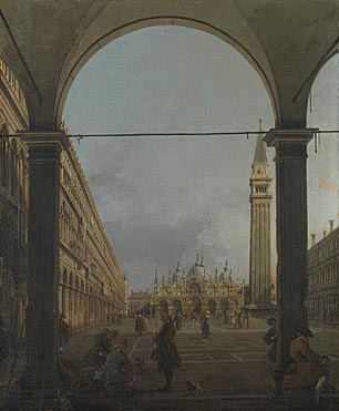 Canaletto, 'Venice: Piazza San Marco', about 1758