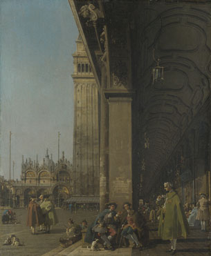 Canaletto: 'Venice: The Piazza San Marco'