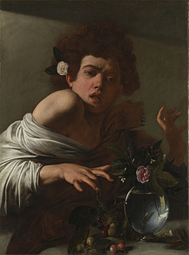 Michelangelo Merisi da Caravaggio, Boy bitten by a Lizard
