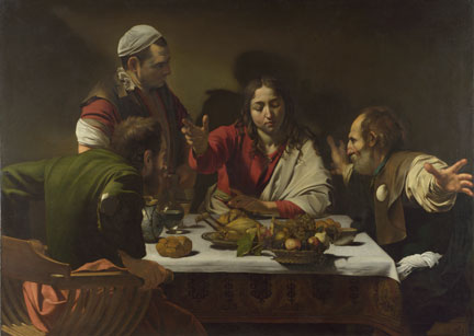 Michelangelo Merisi da Caravaggio, The Supper at Emmaus