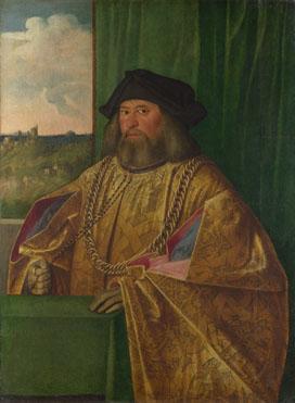 Giovanni Cariani: 'Francesco Albani (?)'