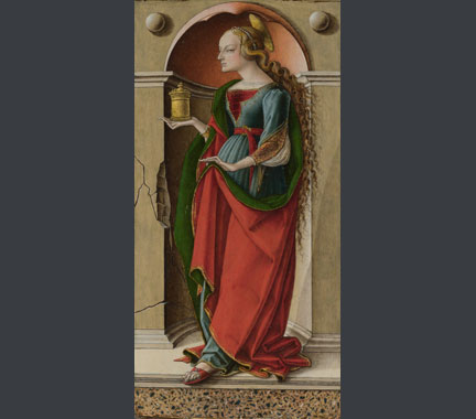 Carlo Crivelli, 'Saint Mary Magdalene', probably about 1491-4