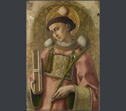 Carlo Crivelli, 'Saint Stephen', 1476