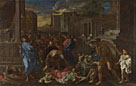 Angelo Caroselli,'The Plague at Ashdod (after Poussin)'