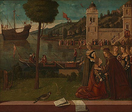 Vittore Carpaccio: 'The Departure of Ceyx'