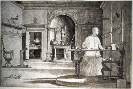 Vittore Carpaccio: 'Saint Augustine in his Study'.