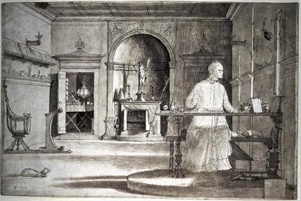 Vittore Carpaccio: 'Saint Augustine in his Study'.