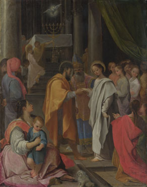 Ludovico Carracci: 'The Marriage of the Virgin'