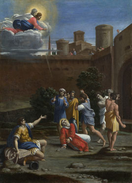 Attributed to Antonio Carracci: 'The Martyrdom of Saint Stephen'