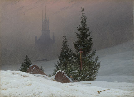 Caspar David Friedrich, 'Winter Landscape', probably 1811