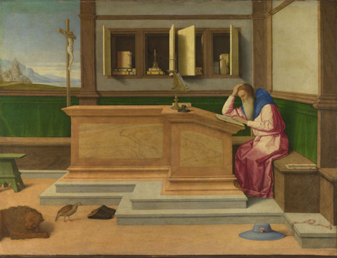 Vincenzo Catena: 'Saint Jerome in his Study'