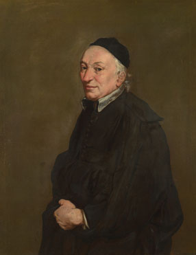 Giacomo Ceruti: 'Portrait of a Priest'