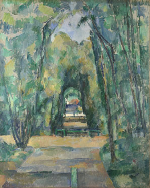Paul Cézanne: 'Avenue at Chantilly'