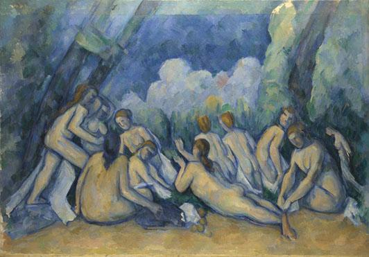 Paul Cézanne: 'Bathers (Les Grandes Baigneuses)'