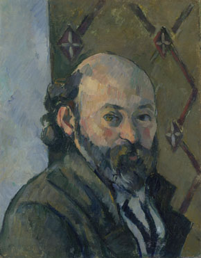 Paul Cézanne: 'Self Portrait'