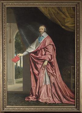 Philippe de Champaigne: 'Cardinal de Richelieu'