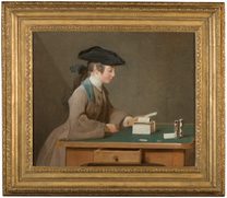 Chardin, The House of Cards, about 1736-7